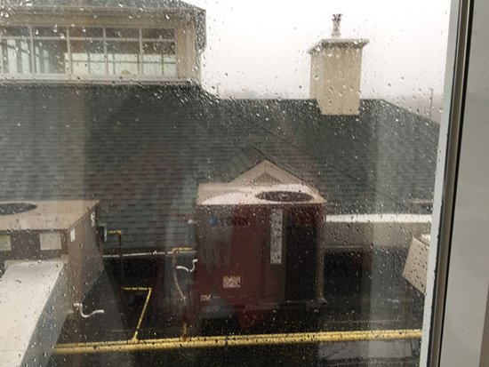 Hilton Garden Inn Halifax Airport: Lovely view - right?