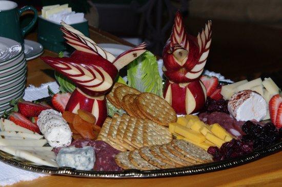 Gustavus, AK: Appetizer platter