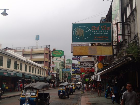 khao san road picture of khao san road bangkok. Black Bedroom Furniture Sets. Home Design Ideas