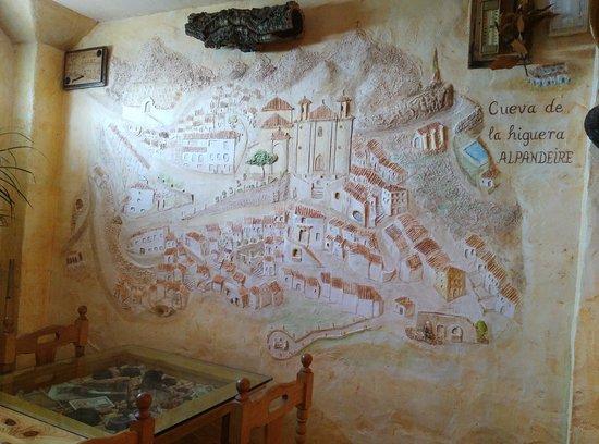 Alpandeire, España: Bodeguita Cueva de la Higuera