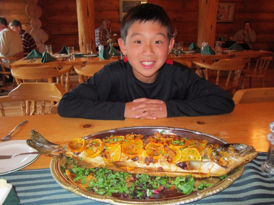 Gustavus, AK : From the river to the table