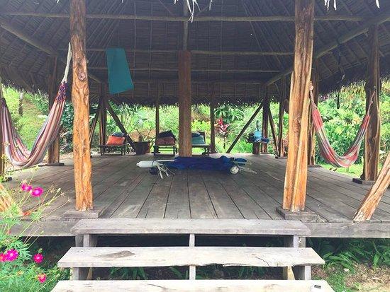 Isla San Cristobal, Panama: Yoga pavilion