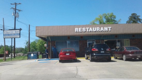Country Boy Restaurant, Many, Louisiana