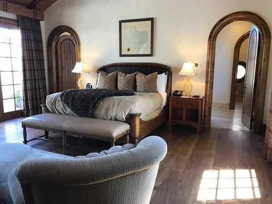 Charming The Inn At Dos Brisas: Hacienda Bedroom.