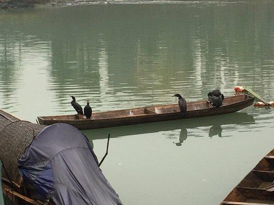 Xiushan County, Κίνα: fishing village