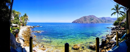 Casa Pericos: Panoramic view from our balcony!