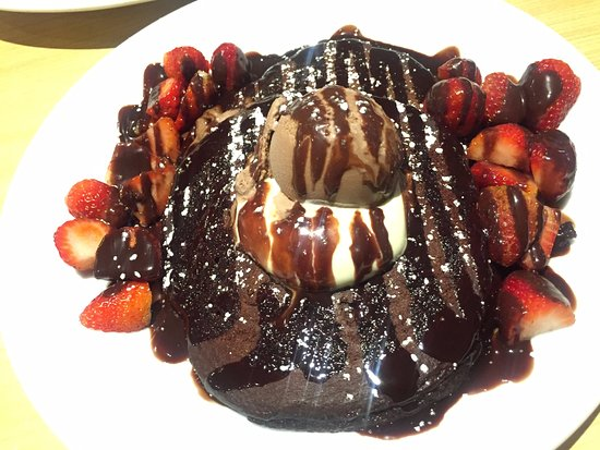 Campbelltown, Australia: Devil Delight Pancake