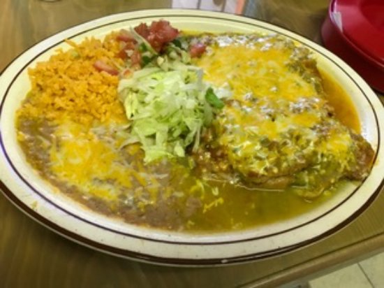El Prado, NM: Best chile rellenos you will ever taste.