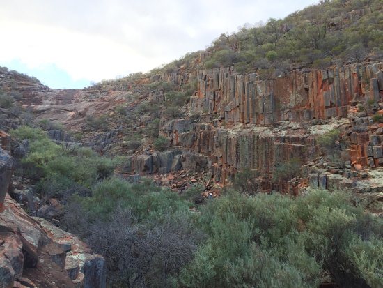 South Australia, Australia: This is a superb National Park in so many ways - columns of coloured granite, various wildlife s