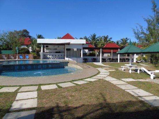 Pandan, Filippinene: view fom Pool De Luxe room