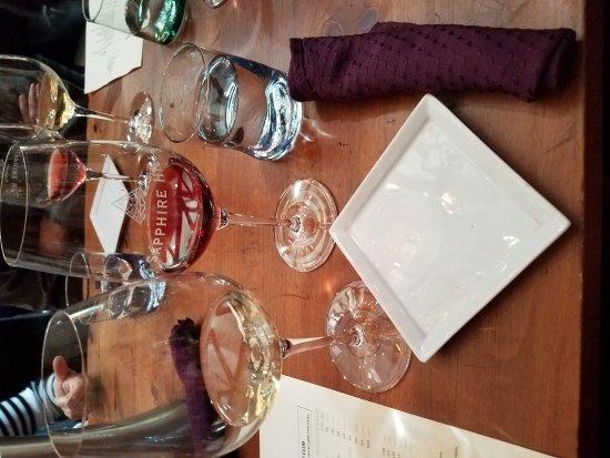 Healdsburg, Kalifornien: 5 course food and wine pairing