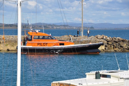 Low Head, Australia: Pilot boat - The Paterson