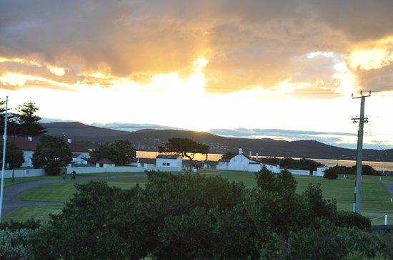 Low Head, Avustralya: Pilot station at sunset