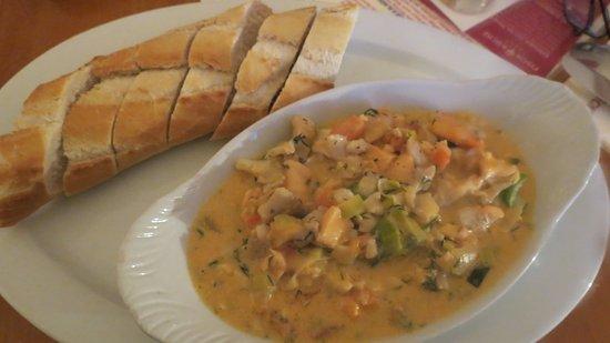 Fischkuche Laboe: Hearty Fish Stew