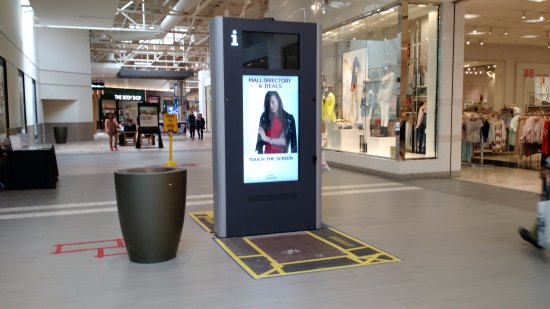 Milpitas, CA: Touch screen directory