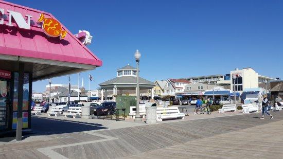Rehoboth Beach Boardwalk Picture
