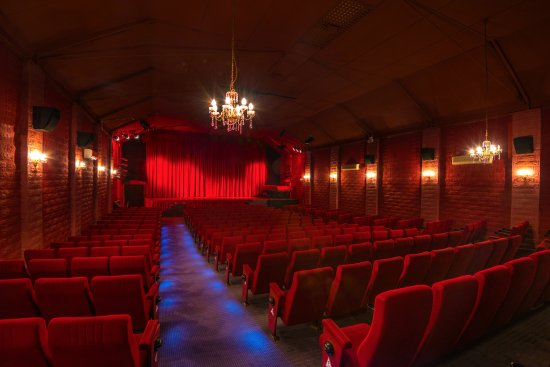 Inside the beautiful Avoca Beach Picture Theatre