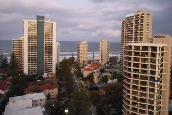 Wyndham Surfers Paradise: Great views from the room