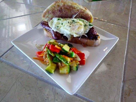 Anniston, AL: irish style breakfast sandwich