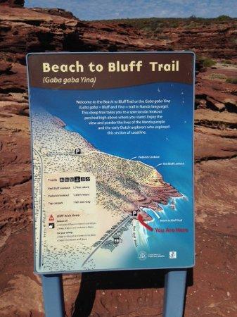 Red Bluff: Trail information