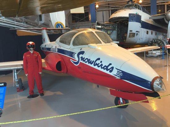 Royal Aviation Museum of Western Canada: Canadair Tutor