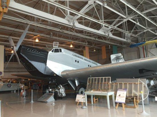 Royal Aviation Museum of Western Canada: JU-52 CF-ARM