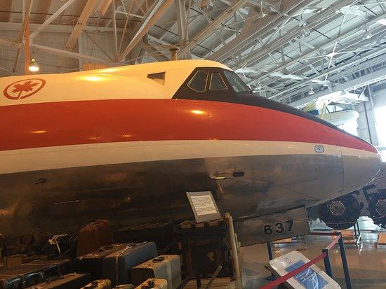 Royal Aviation Museum of Western Canada: Air Canada Viscount
