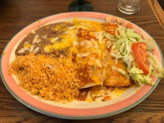 Милпитас, Калифорния: Enchiladas