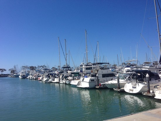 Dana Point, Kalifornia: Main harbour area
