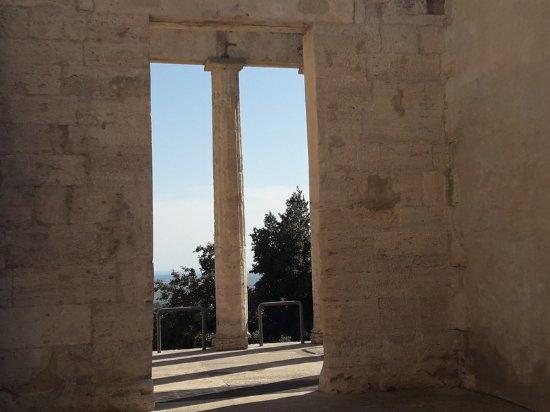 Cori, Italie : Il tempio di Ercole