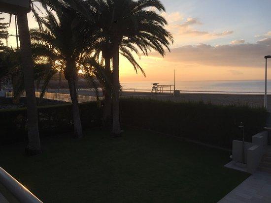 San Agustin, Spain: Abenddämmerung in Las Barcas