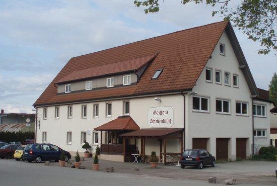 Deisslingen, Tyskland: Gesamt-Ansicht Staatsbahnhof