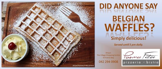Saint Francis Bay, Zuid-Afrika: The only Belgian Waffles in St Francis Bay and surroundings