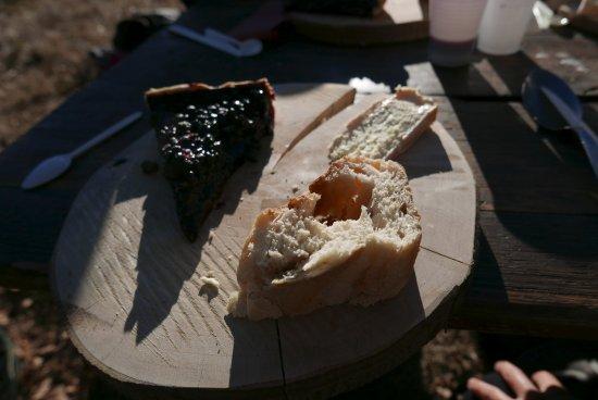 Cornimont, Francja: Dessert sur la planche