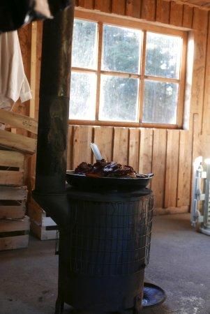 Cornimont, Frankrike: Dans la cabane