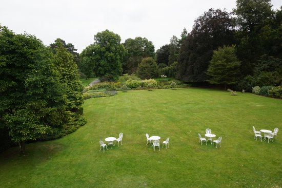 Hinton Charterhouse, UK: View from room
