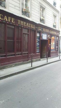 Cafe Theatre Rue Chapon Paris