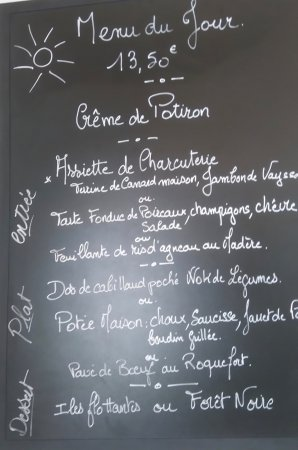 Goujounac, France: Bon appétit!!!!