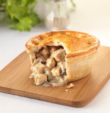 Somerset Village, Bermuda: Chicken pie sample a Bermudian favorite lunch