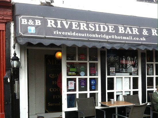 Sutton Bridge, UK: Riverside restaurant
