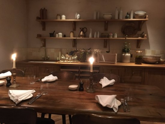 their private dining room - Picture of Luca, London - TripAdvisor
