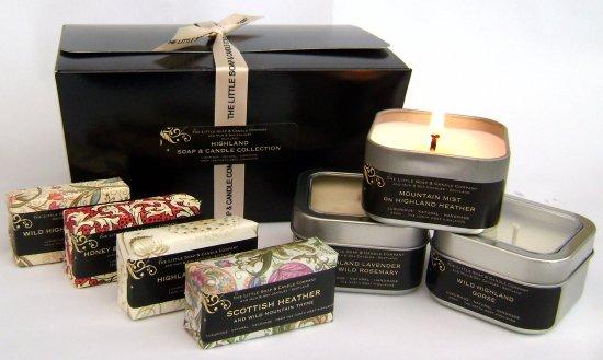 Drumbeg, UK: Highland Soap & Candle Gift Box