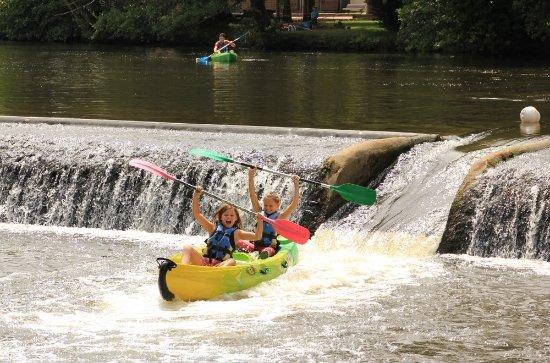 Pont-d'Ouilly, France : Canoë-Kayak