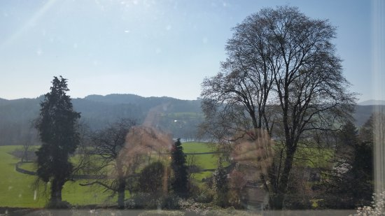 Near Sawrey, UK: View from the Grizedale room