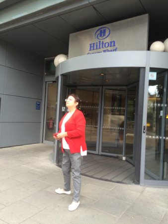 Hilton London Canary Wharf: Me and my Mamma lovely place with great staff