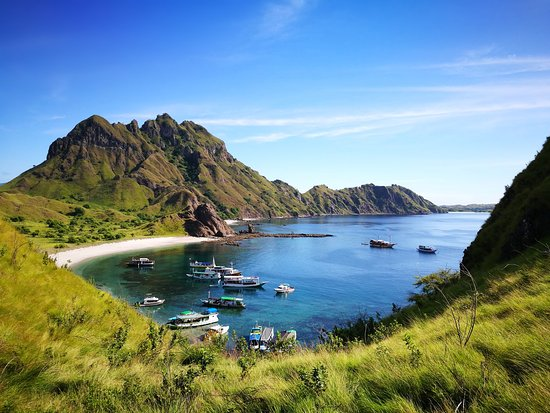 Labuan Bajo, Indonesia: View from halfway