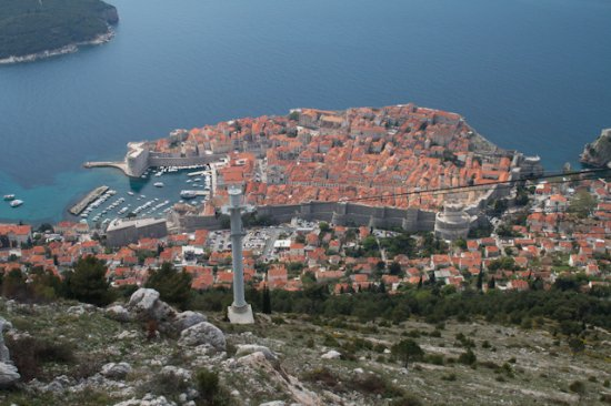 Apartments Santa Maria : Apartment is in the walled Town 2 minutes from the harbour