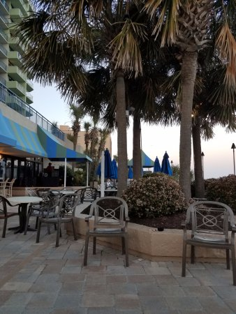 Awesome Coral Beach Resort U0026 Suites: Outside Bar And Grill And DJ Area Part 22