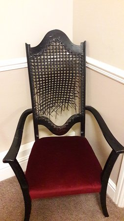 Monk Fryston, UK: Chair on way to the room