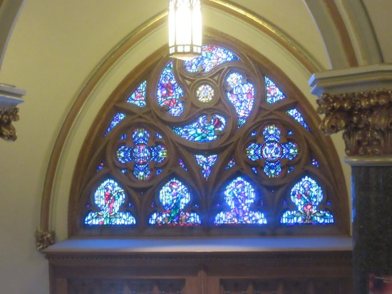 Church Of The Gesu Interior Entry Door Stained Glass Picture Of